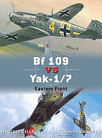 Osprey Publishing BF 109 Vs Yak-1/7 -- Military History Book -- #due65