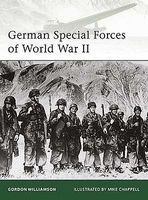 Osprey-Publishing German Special Forces of WWII Military History Book #e177