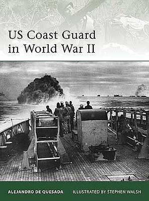 Osprey-Publishing US Coast Guard in WWII Military History Book #e180