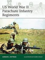 Osprey-Publishing US WWII Parachute Infantry Regiments Military History Book #e198