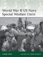 WWII US Navy Special Warfare Units Military History Book #e203