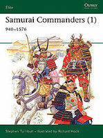 Osprey-Publishing Samurai Commanders 1060-1576 Military History Book #eli125