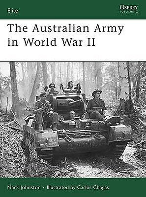 Osprey-Publishing The Australian Army WWII Military History Book #eli153