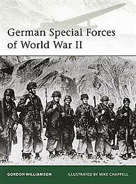 Osprey Publishing German Special Forces WWII -- Military History Book -- #eli177