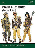 Osprey-Publishing Israeli Elite Units Since 1948 Military History Book #eli18