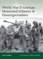 Osprey-Publishing WWII GERMAN MOTORIZED Inf&Paz