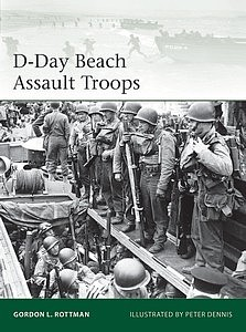 Osprey Publishing D-Day Beach Assault Troops