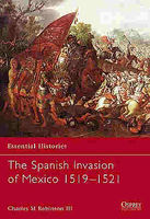 Spanish Invasion of Mexico Military History Book #ess60