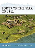 Osprey-Publishing Forts of the War of 1812 Military History Book #for106