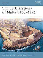 Osprey-Publishing The Fortifications of Malta Military History Book #for16