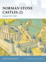 Osprey-Publishing Norman Stone Castles Military History Book #for18