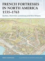 Osprey-Publishing French Fortresses in North America Military History Book #for27