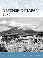 Osprey-Publishing Defense of Japan 1945 Military History Book #for99