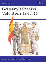 Osprey-Publishing Germanys Spanish Volunteers Military History Book #maa103
