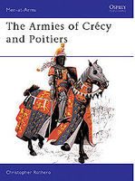 Osprey-Publishing The Armies of Crecy and Poitiers Military History Book #maa111