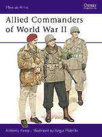 Osprey-Publishing Allied Commanders WWII Military History Book #maa120
