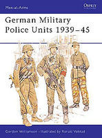 Osprey-Publishing German Military Police Units Military History Book #maa213
