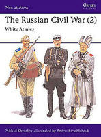 Osprey-Publishing Russian Civil War 2 White Armies Military History Book #maa305