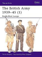Osprey-Publishing The British Army 1 1939-45 Military History Book #maa354