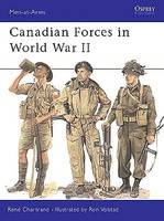 Osprey-Publishing Canadian Forces in WWII Military History Book #maa359