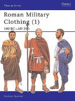 Osprey-Publishing Roman Military Clothing 100 BC-AD 200 Military History Book #maa374