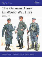 Osprey-Publishing The German Army in WWI 2 Military History Book #maa407