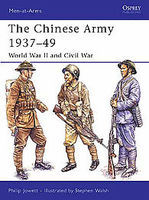 Chinese Army 1937-49 Military History Book #maa424
