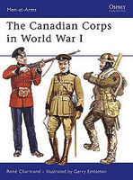Osprey-Publishing The Canadian Corps in WWI Military History Book #maa439