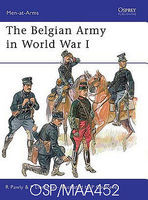 Osprey-Publishing The Belgian Army in WWI Military History Book #maa452