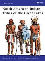 Osprey-Publishing American Indians Tribes of the Great Lakes Military History Book #maa467