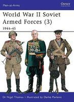 Osprey-Publishing WWII Soviet Armed Forces 3 Military History Book #maa469