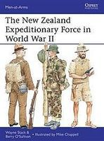 Osprey-Publishing The New Zealand Expeditionary Force in WWII Military History Book #maa486