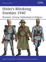 Osprey-Publishing Hitler's Blitzkrieg Enemies 1940 Military History Book #maa493