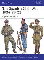 Osprey-Publishing The Spanish Civil War 1936-39 (2) Military History Book #maa498