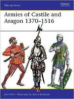 Osprey-Publishing Armies of Castile and Aragon 1370-1516 Military History Book #maa500