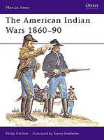 Osprey-Publishing The American Indian Wars Military History Book #maa63