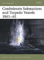 Osprey-Publishing Confederate Submarines and Torpedo Vessels 1861-65 Military History Book #nvg103