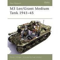 Osprey-Publishing M3 Lee/Grant Medium Tank 1941-45 Military History Book #nvg113