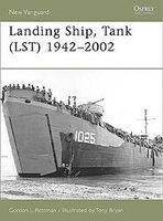 Osprey-Publishing Landing Ship, Tank (LST) 1942-2002 Military History Book #nvg115