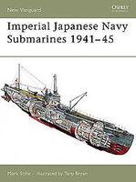 Osprey-Publishing Imperial Japanese Navy Submarines 1941-45 Military History Book #nvg135