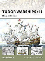 Osprey-Publishing Tudor Warships 1 Henry VIII's Navy Military History Book #nvg142