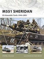 Osprey-Publishing M551 Sheridan US Airmobile Tank 1941-2001 Military History Book #nvg153