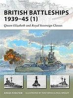 Osprey-Publishing British Battleships 1939-45 Military History Book #nvg154