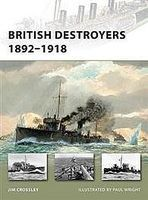 Osprey-Publishing British Destroyers 1892-1918 Military History Book #nvg163