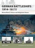 Osprey-Publishing German Battleships 1914-18 1 Military History Book #nvg164