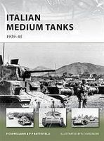 Osprey-Publishing Italian Medium Tanks 1939-45 Military History Book #nvg195