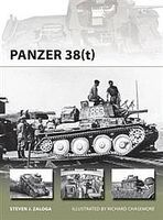 Osprey-Publishing Panzer 38(t) Military History Book #nvg215