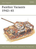 Osprey-Publishing Panther Variants 1942-45 Military History Book #nvg22
