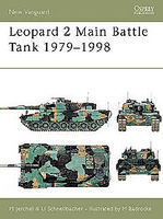 Osprey-Publishing Leopard 2 Main Battle Tank 1979-98 Military History Book #nvg24
