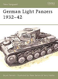 Osprey-Publishing German Light Panzers 1932-42 Military History Book #nvg26